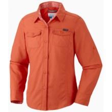 Columbia Sportswear Silver Ridge II Shirt - UPF 30, Long Sleeve (For Girls) in Zing - Closeouts