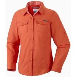 Columbia Sportswear Silver Ridge II Shirt - UPF 30, Long Sleeve (For Girls) in Zing