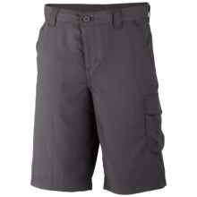Columbia Sportswear Silver Ridge II Shorts - UPF 30 (For Boys) in Grill - Closeouts