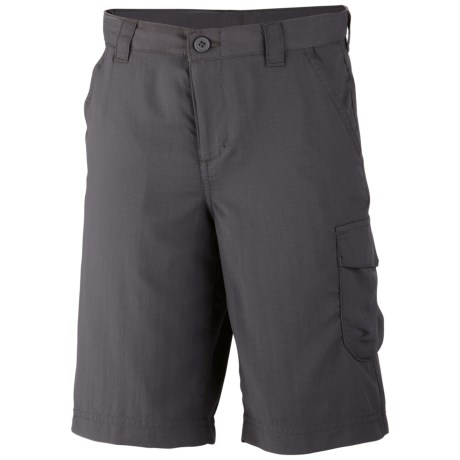 Columbia Sportswear Silver Ridge II Shorts - UPF 30 (For Boys) in Grill