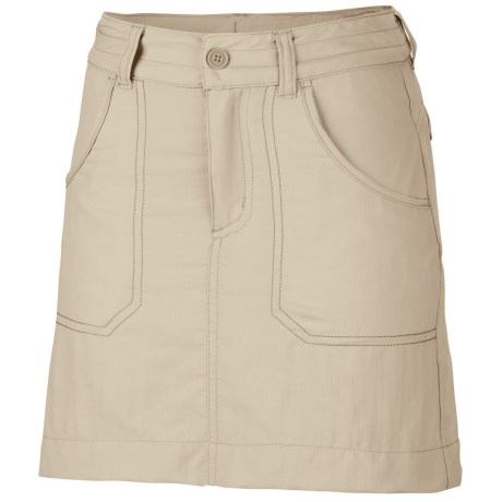 Columbia Sportswear Silver Ridge II Skort - UPF 30, Summit Cloth (For Girls) in Fossil