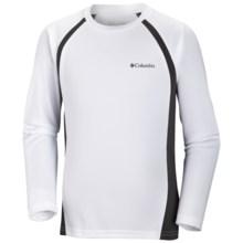 Columbia Sportswear Silver Ridge II Tech T-Shirt - Long Sleeve (For Boys) in White - Closeouts