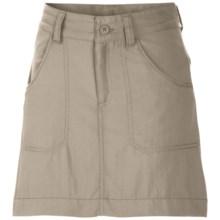 Columbia Sportswear Silver Ridge III Skort - UPF 30 (For Girls) in Fossil - Closeouts