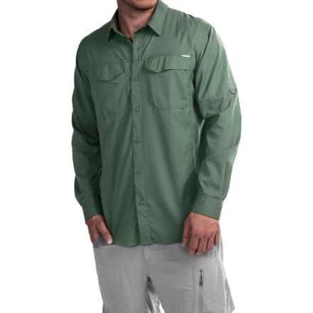 Columbia Sportswear Silver Ridge Lite Shirt - Omni-Wick®, UPF 40, Long Sleeve (For Men) in Commando - Closeouts