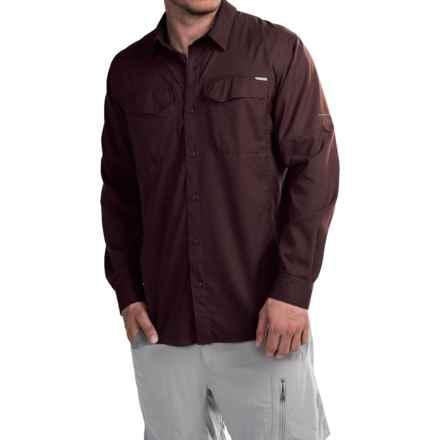 Columbia Sportswear Silver Ridge Lite Shirt - Omni-Wick®, UPF 40, Long Sleeve (For Men) in New Cinder - Closeouts