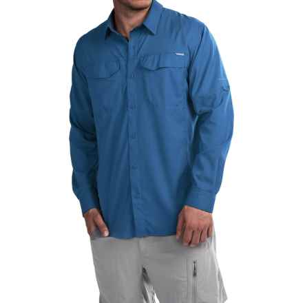 Columbia Sportswear Silver Ridge Lite Shirt - Omni-Wick®, UPF 40, Long Sleeve (For Men) in Pacific Blue - Closeouts