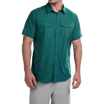 Columbia Sportswear Silver Ridge Lite Shirt - Omni-Wick®, UPF 40, Short Sleeve (For Men) in Deep Water - Closeouts