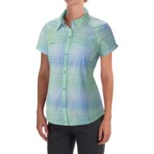 Columbia Sportswear Silver Ridge Multi Plaid Omni-Wick® Shirt - UPF 50 (For Women) in Harbor Blue Ombre Palid - Closeouts