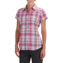 Columbia Sportswear Silver Ridge Multi Plaid Omni-Wick® Shirt - UPF 50 (For Women) in Haute Pink Dobby Plaid - Closeouts