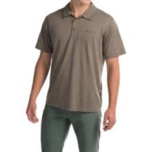 Columbia Sportswear Silver Ridge Omni-Freeze® Zero Polo Shirt - Short Sleeve (For Men) in Wet Sand Heather - Closeouts