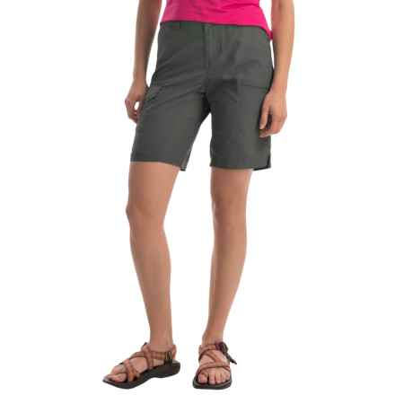 Columbia Sportswear Silver Ridge Omni-Wick® Cargo Shorts - UPF 50 (For Women) in Grill - Closeouts