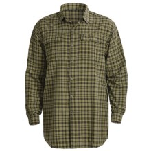 Columbia Sportswear Silver Ridge Plaid Shirt - UPF 30, Long Sleeve (For Big and Tall Men) in Dark Moss - Closeouts