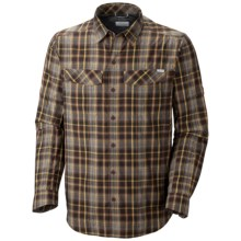 Columbia Sportswear Silver Ridge Plaid Shirt - UPF 30, Long Sleeve (For Big and Tall Men) in Red Rocks Plaid - Closeouts