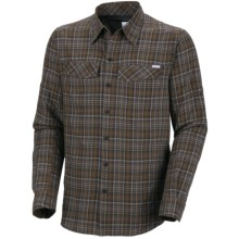 Columbia Sportswear Silver Ridge Plaid Shirt - UPF 30, Long Sleeve (For Big Men) in Marsh - Closeouts