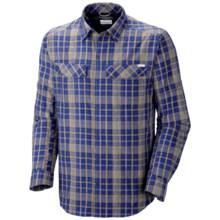 Columbia Sportswear Silver Ridge Plaid Shirt - UPF 30, Long Sleeve (For Men) in Azul Plaid - Closeouts