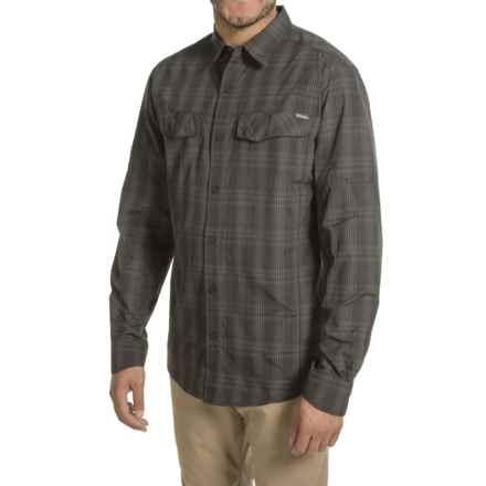 Columbia Sportswear Silver Ridge Plaid Shirt - UPF 30, Long Sleeve (For Men) in Black Mid Plaid - Closeouts