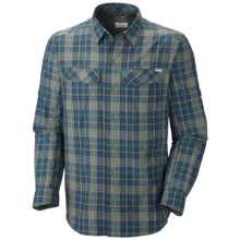 Columbia Sportswear Silver Ridge Plaid Shirt - UPF 30, Long Sleeve (For Men) in Dark Backcountry Plaid - Closeouts