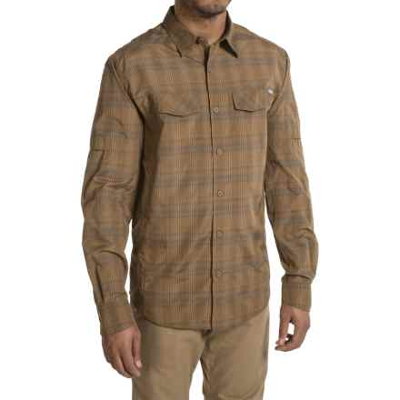 Columbia Sportswear Silver Ridge Plaid Shirt - UPF 30, Long Sleeve (For Men) in Delta Mid Plaid - Closeouts