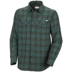 Columbia Sportswear Silver Ridge Plaid Shirt - UPF 30, Long Sleeve (For Men) in Hyper Blue Small Plaid