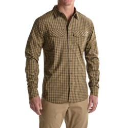 Columbia Sportswear Silver Ridge Plaid Shirt - UPF 30, Long Sleeve (For Men) in Marsh Mini Check