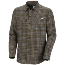 Columbia Sportswear Silver Ridge Plaid Shirt - UPF 30, Long Sleeve (For Men) in Marsh - Closeouts