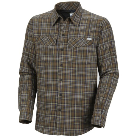 Columbia Sportswear Silver Ridge Plaid Shirt - UPF 30, Long Sleeve (For Men) in Marsh