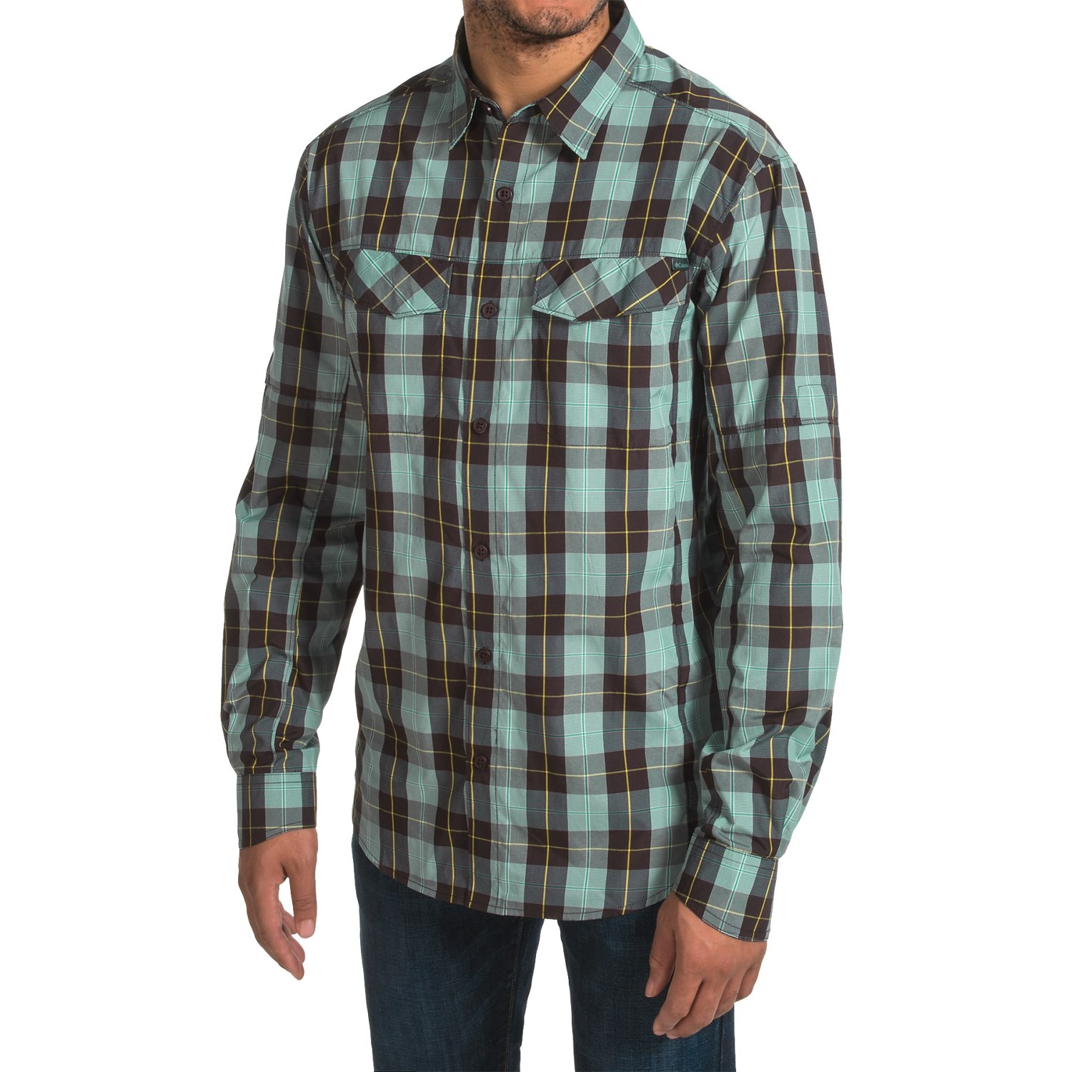 Columbia Sportswear Silver Ridge Plaid Shirt For Men