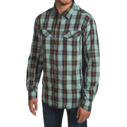 Columbia Sportswear Silver Ridge Plaid Shirt - UPF 30, Long Sleeve (For Men) in New Cinder Heathered Plaid - Closeouts