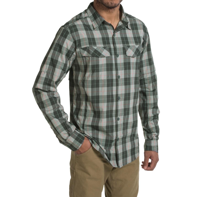 1a64e01d7 Columbia Sportswear Silver Ridge Plaid Shirt - UPF 30, Long Sleeve (For Men)  ...
