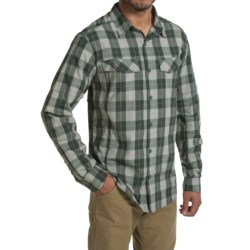 Columbia Sportswear Silver Ridge Plaid Shirt - UPF 30, Long Sleeve (For Men) in Pond Heathered Plaid