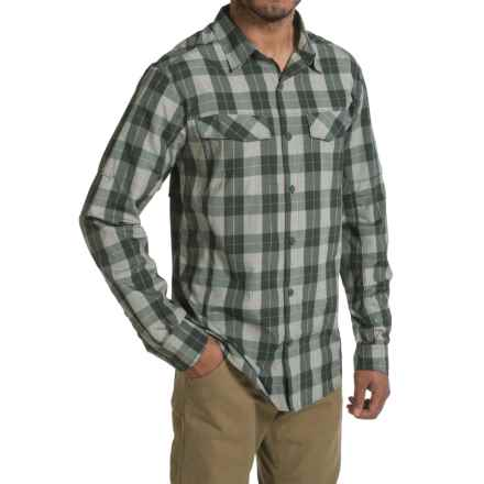Columbia Sportswear Silver Ridge Plaid Shirt - UPF 30, Long Sleeve (For Men) in Pond Heathered Plaid - Closeouts