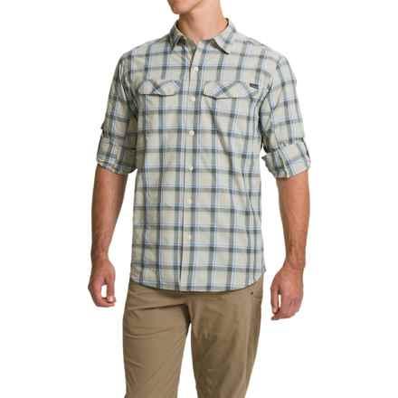 Columbia Sportswear Silver Ridge Plaid Shirt - UPF 30, Long Sleeve (For Men) in Stone Heather Plaid - Closeouts