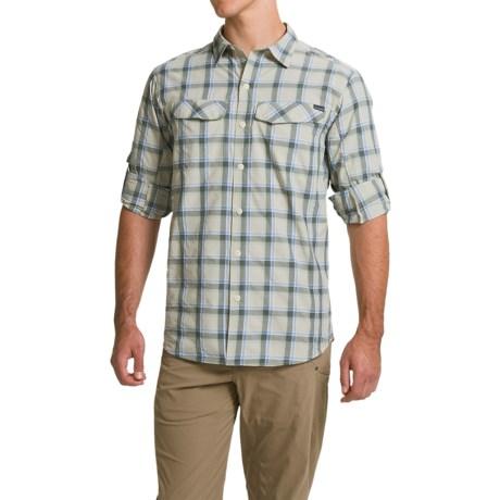 Columbia Sportswear Silver Ridge Plaid Shirt - UPF 30, Long Sleeve (For Men) in Stone Heather Plaid