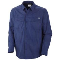 Columbia Sportswear Silver Ridge Plaid Shirt - UPF 30, Long Sleeve (For Men) in Tonal Small Check