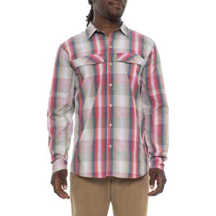 Columbia Sportswear Silver Ridge Plaid Shirt - UPF 30, Long Sleeve (For Men) in Tusk Multi Plaid