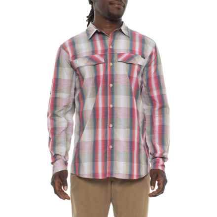 Columbia Sportswear Silver Ridge Plaid Shirt - UPF 30, Long Sleeve (For Men) in Tusk Multi Plaid