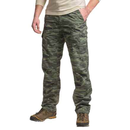 Columbia Sportswear Silver Ridge Printed Cargo Pants - UPF 50 (For Men) in Gravel Camo Print - Closeouts