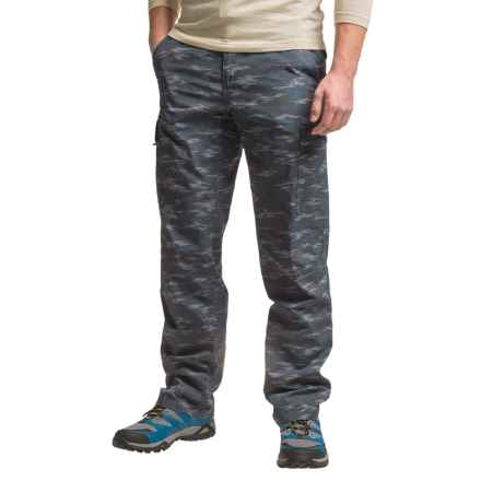Columbia Sportswear Silver Ridge Printed Cargo Pants - UPF 50 (For Men) in India Ink Digi Camo - Closeouts