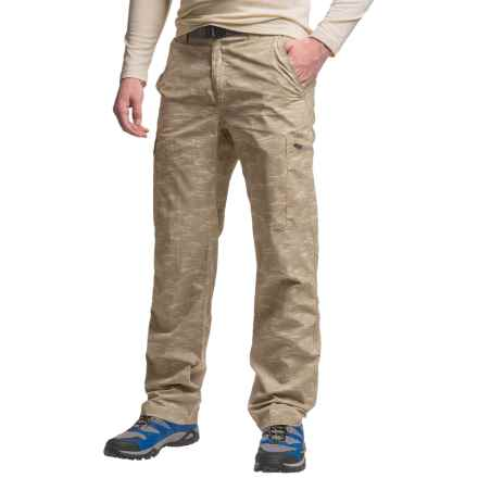 Columbia Sportswear Silver Ridge Printed Cargo Pants - UPF 50 (For Men) in Tusk Digi Camo - Closeouts