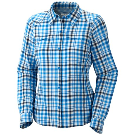 Columbia Sportswear Silver Ridge Ripstop Plaid Shirt - UPF 30, Long Sleeve (For Women)
