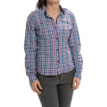 Columbia Sportswear Silver Ridge Ripstop Plaid Shirt - UPF 40, Long Sleeve (For Women) in Berry Jam - Closeouts