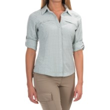 Columbia Sportswear Silver Ridge Ripstop Shirt - UPF 30, Long Sleeve (For Women) in Niagra Small Plaid - Closeouts