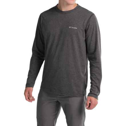 Columbia Sportswear Silver Ridge Shirt - Omni-Freeze® ZERO, Long Sleeve (For Men) in Shark Heather - Closeouts