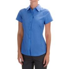 Columbia Sportswear Silver Ridge Shirt - UPF 40, Short Sleeve (For Women) in Harbor Blue - Closeouts