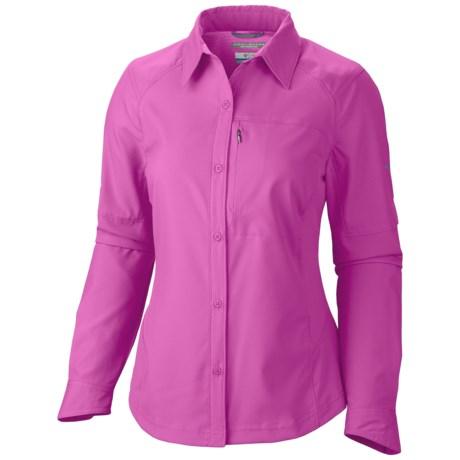photo: Columbia Women's Silver Ridge Stretch Long Sleeve Shirt