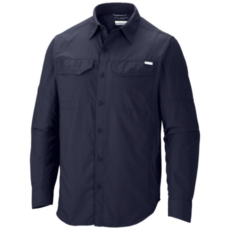 Columbia Sportswear Silver Ridge Shirt - UPF 50, Long Roll-Up Sleeve (For Men) in Collegiate Navy