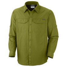 Columbia Sportswear Silver Ridge Shirt - UPF 50, Long Roll-Up Sleeve (For Men) in Elm - Closeouts
