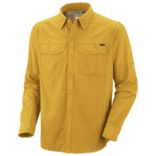 Columbia Sportswear Silver Ridge Shirt - UPF 50, Long Roll-Up Sleeve (For Men) in Gold Leaf - Closeouts