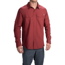 Columbia Sportswear Silver Ridge Shirt - UPF 50, Long Roll-Up Sleeve (For Men) in Red Element - Closeouts