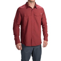 Columbia Sportswear Silver Ridge Shirt - UPF 50, Long Roll-Up Sleeve (For Men) in Red Element